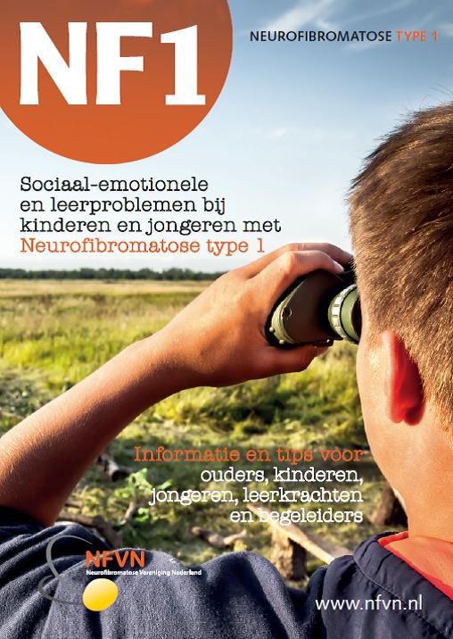 Voorkant brochure NF1 Niet altijd zichtbaar
