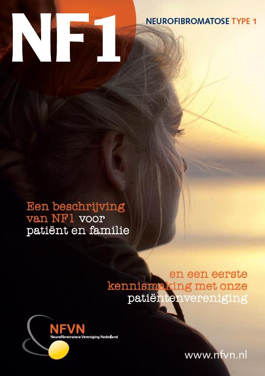 Voorkant brochure NF1 voor patiënten en familie