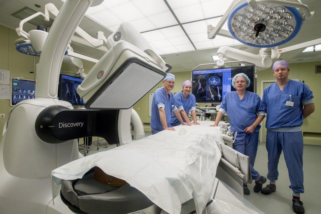 Vaatchirurgen in hybride OK wegens jubileum EVAR