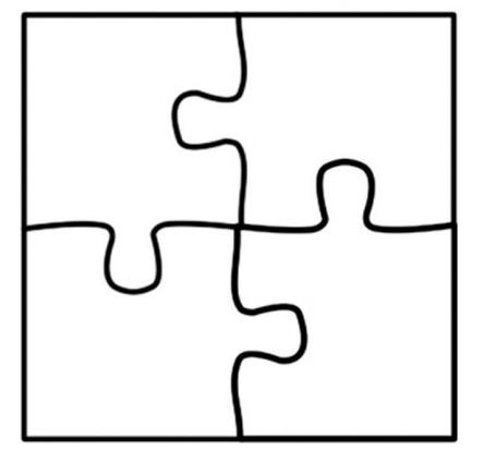 Puzzelstukjes