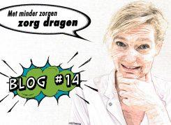 Met minder zorgen zorg dragen voor meer zorg – Blog 14