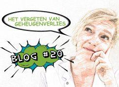 Het vergeten van geheugenverlies – Blog 20
