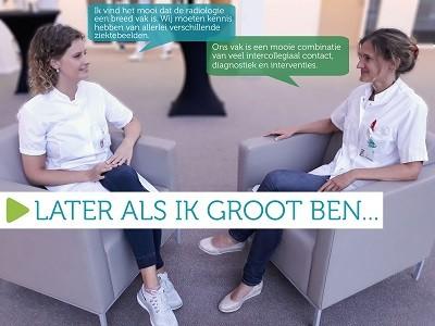 Kim ter Horst en Heleen ten Dam in gesprek over hun werk op de SEH