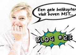 Traumaheli ingezet – Blog 23 van Wilma
