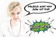 Medisch asiel voor Julia – Blog 24
