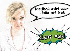Medisch asiel voor Julia – Blog 24 van Wilma