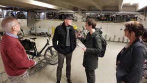 Interview door BNR Nieuwsradio over Fietsbeloningssysteem MST voor Spitsbrekers competitie