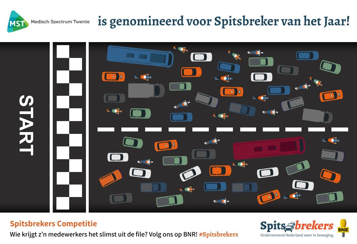 MST is genomineerd voor Spitsbreker van het jaar!
