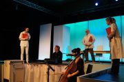 Een theatervoorstelling in MST over patiëntgerichte zorg