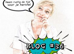 Het moeten missen van de Marathon van Enschede – Blog 36 van Wilma