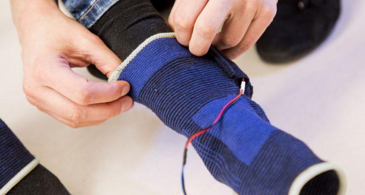 Trillende sokken helpen parkinsonpatiënt beter lopen