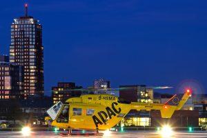 Traumacentrum MST Duitse patiënten met helikopter