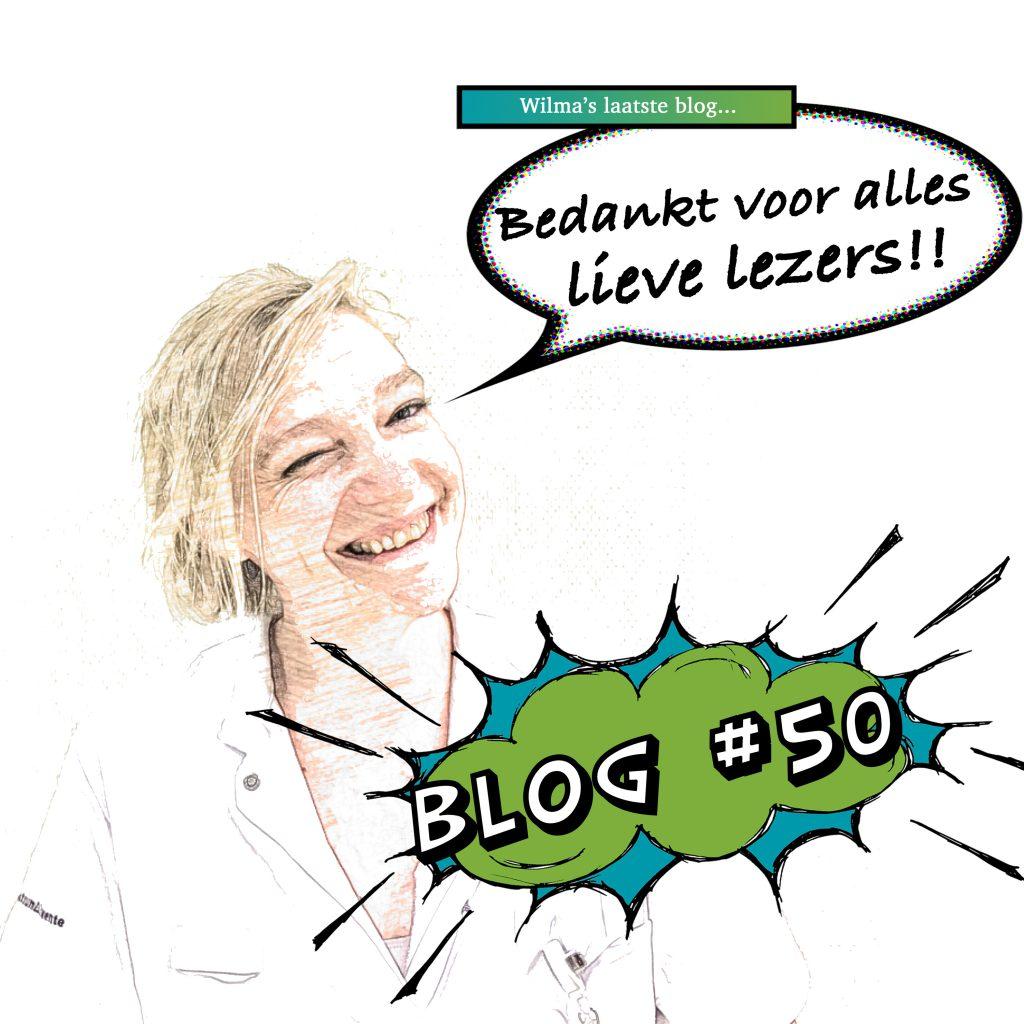 Laatste blog van Wilma 50