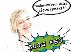 De allerlaatste… – Blog 50 van Wilma