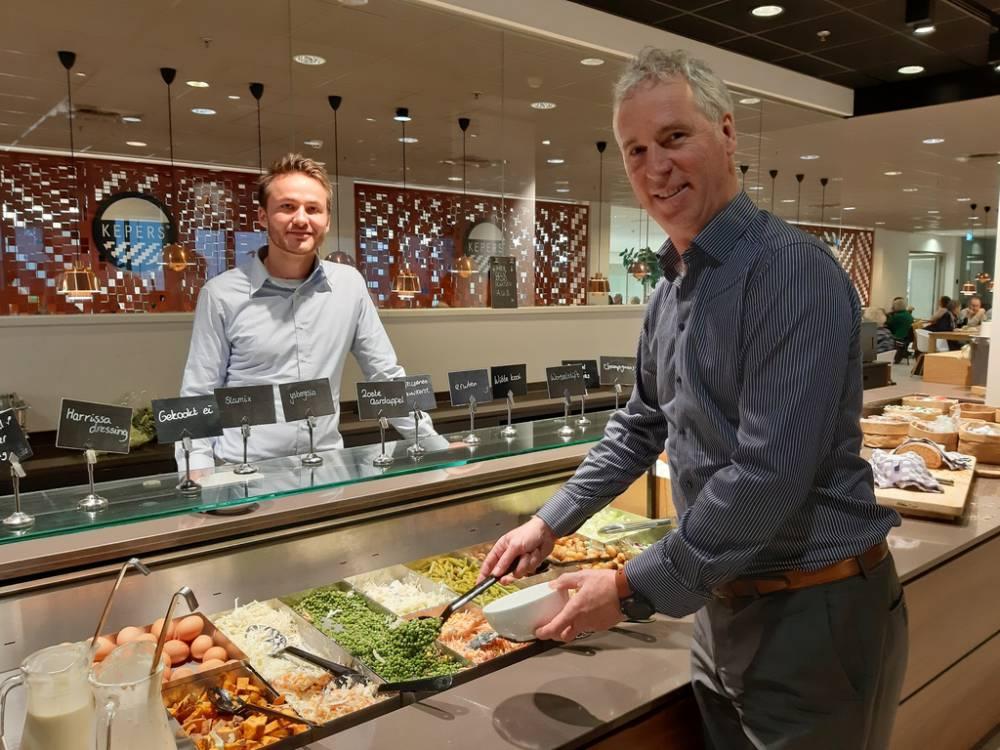 Samen gezond eten in MST restaurant met Nibblr