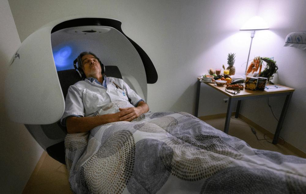 Powernap stoel op de Intensive Care van MST. Foto: Cees Elzenga