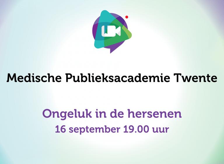 Medische Publieksacademie Twente over beroertes